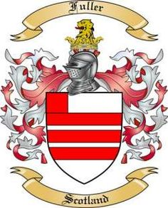 Fuller Family Coat of Arms from Scotland