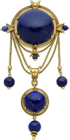 Jewelry & Accessories Dark Blue And Black Square Profound 14*14*5.8 L A Pis L A Z U L I Necklace. Necklaces & Pendants