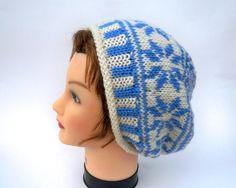 Instant Download Pattern  Knit Hat Pattern  by BettyMarieJones ♡♡
