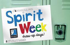 Get Your #SpiritWeek Gear at Goodwill!