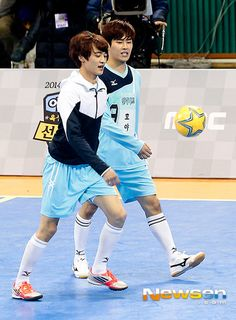 [Photo] EXO′s Lu Han, B2ST′s Yoon Du Jun and More Dominate ′Idol Star Athletics Championships′