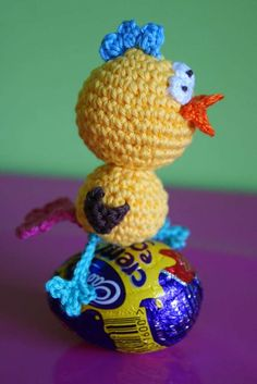 Crazy Chick - free crochet pattern