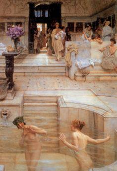 'A Favorite Custom' by Lawrence Alma-Tadema.