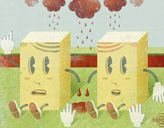 """Check out new work on my @Behance portfolio: """"Little Bloody Town."""" http://be.net/gallery/44313689/Little-Bloody-Town"""