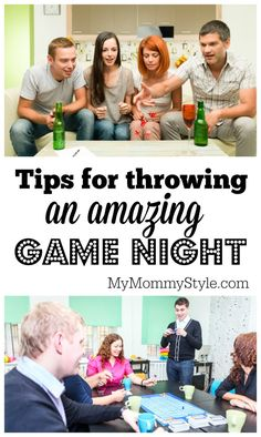 Tips for throwing an amazing game night. Games a great way to get together with friends. Don't risk the game night being a total bust. Read these great tips.