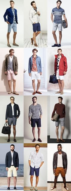 Great Contrasting Outfit Combinations : Shoes & Shorts Lookbook Inspiration