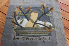 Farmhouse Threads and Friends Harvest Mystery Quilt Blog Hop | Cottage Postcards