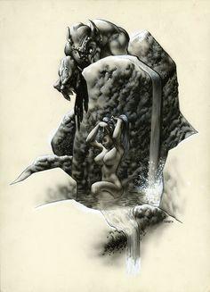 Richard Corben Portfolio Plate