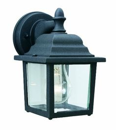 Thomas Lighting Sl9422-7 Hawthorne One-Light Outdoor Wall Lantern, Matte Black by Thomas Lighting. $25.20. From the Manufacturer                Thomas Lighting established in 1919 is known for it's style and quality, the Hawthorne Collection offers a wide variety of sizes in this die-cast aluminum exterior fixture with it's matte black finish.                                    Product Description                SL94227 Features: -Die-cast aluminum.-Height From Cent...