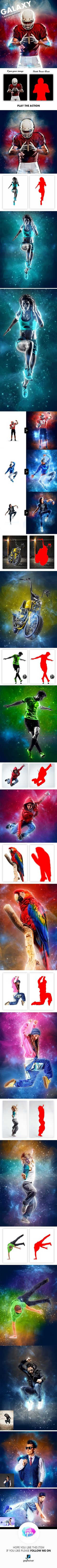 Galaxy Photoshop Action - Photo Effects Actions
