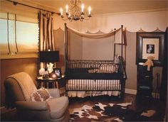 Country chic baby room..cute idea when we are ready to have kids