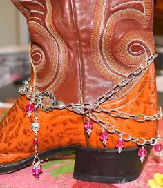 Jewelry Boot Jewelry Boot Wrap Boot Bling Boot by CowgirlUpLadies, $14.00