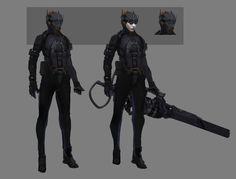 ArtStation - VTOL Sniper, Tyler Bartley