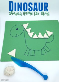 Dinosaur Shapes Game for Preschoolers and Toddlers