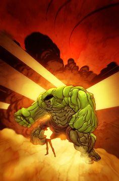 #Hulk #Fan #Art. (Hulk and the baby) By: BoOoM. (THE * 5 * STÅR * ÅWARD * OF: * AW YEAH, IT'S MAJOR ÅWESOMENESS!!!™)[THANK Ü 4 PINNING<·><]<©>