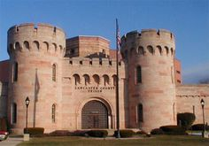 This is the Lancaster County prison; not to be confused with Dutch Wonderland Amusement Park, which also has a castle!
