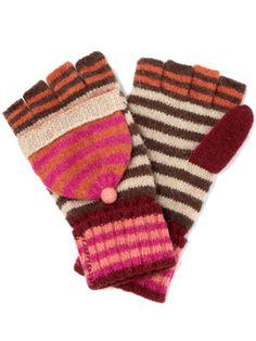 Retro Knit Gloves £7, Margot