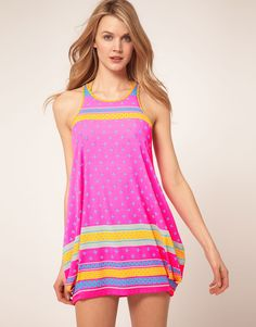 Pretty sure I would never spend this much on a beach cover up, but I love it!