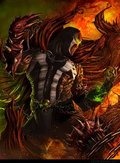 BECOMING SPAWN by CarlosDattoliArt on @DeviantArt