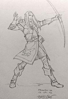 eva-widermann-elf-archer-sketch