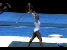 Daiane dos Santos (BRA) FX EF World Championships Anaheim 2003