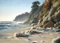 Matt Smith, Plein Air Artist, Landscape Painter of the American West, California Coast. Arizona Dessert, Rocky Mountains, Waterhouse Gallery, Santa Barbara Art Dealers Association, Santa Barbara Art Galleries