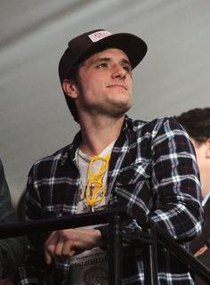 Josh Hutcherson at the Bud Light Hotel Concert in New Orleans for the Super Bowl