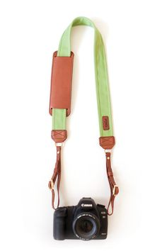 I'm in love with this Avocado colored Camera Strap!  #photography #avocado