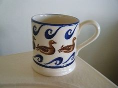 Duck & Wave 0.5 Pint Mug 1986-1988 (Discontinued)