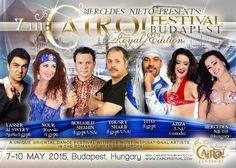 2015 May 7-10. 7th CAIRO! Festival Budapest www.cairofestival.com