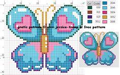 191 Free cross stitch designs butterfly's stitchingcharts borduren gratis borduurpatronen vlinders kruissteekpatronen