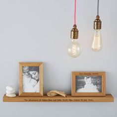 Are you interested in our personalised shelf? With our oak shelf you need look no further.