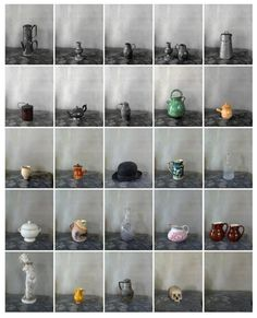Cezanne's objects. By Joel Meyerowitz. #Cezanne #Photography