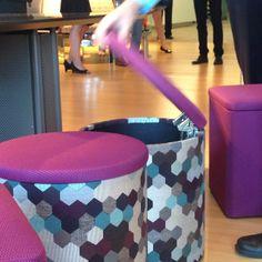 @Versteel® @carneigefabrics #design #textile #seating #neocon14 #neoconography