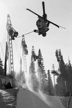 Amazing photo- Amazing Girl- Amazing sport...Sarah Burke. Ski in peace..