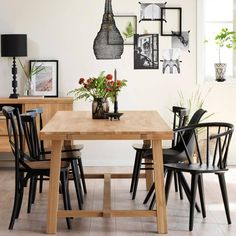 Brooklyn, Dining Area, Dining Table, Black Dining Room Furniture, Table Extensible, Scandinavian Living, Cozy Living, Vintage Home Decor, Interior Inspiration
