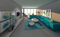 Origami Modern Mobilya | Projeler | park oran salon 2
