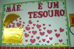 Mural para o dia das mães Just Love Me, Love My Job, Dad Day, Mom And Dad, Diy And Crafts, Crafts For Kids, Preschool Activities, Fathers Day, Education
