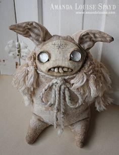 Страшные куклы от Amanda Louise Spayd Монстрики, чудики, авторские игрушки, полимерная глина, валяние.