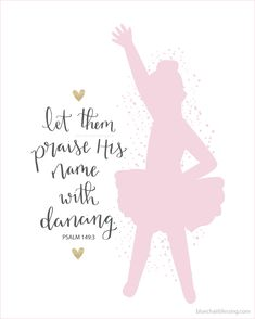 Let them praise His name with dancing 8 by 10 christian hand lettered art print Bible verse from Psalm: Christian t-shirts, art prints, scripture cards and more! Christian Gifts For Women, Christian Girls, Christian Art, Christian Quotes, Psalm 149, Psalms, Freedom Tattoos, Praise Dance, Worship Dance