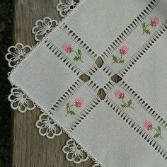Cross Stitch and Hardanger Hardanger Embroidery, Hand Embroidery Stitches, Hand Embroidery Designs, Ribbon Embroidery, Cross Stitch Embroidery, Cross Stitch Designs, Cross Stitch Patterns, Knitting Patterns, Crochet Patterns