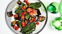 Roasted Eggplant and