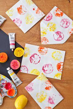 Buste da Lettera Colorate Fai da Te Idee Creative