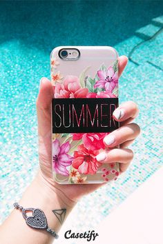 Summer's calling. Click through to see more designs by Sara Eshak >>> https://www.casetify.com/SaraEshak | @casetify