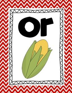 R Controlled Vowel Poster Set FREE