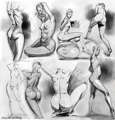 Life Drawing at CAD 2 by *reiq on deviantART