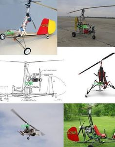Two gyrocopters to build - plans on cd ! Personal Helicopter, Radio Controlled Aircraft, Paragliding, Helicopters, Asd, Airplanes, How To Plan, Store, Building