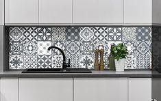Carreaux de ciment adhésif mural – azulejos – 15 x 15 cm – 15 pièces: 15 stickers carrelages adhésif 15 x 15 imitation carreaux de ciment.…