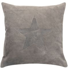 Suede Star Kudde