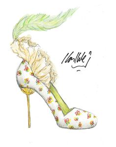 shoes #fashionillustration #sketch #drawing